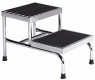 Brewer Bariatric Double Step Stool